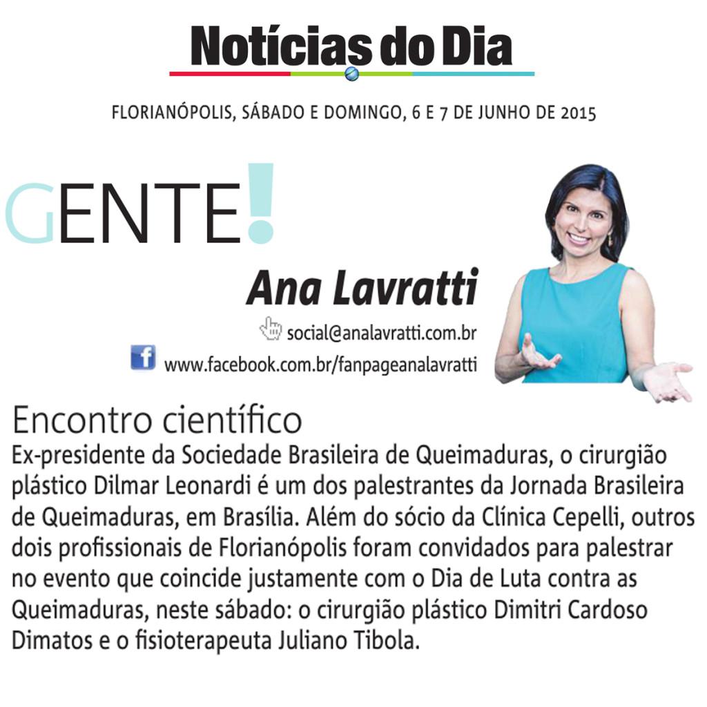 06 e 07.06.2015- Ana Lavratti ND - Encontro cientifico